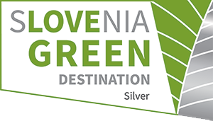 Srebrni znak Slovenia Green Destination